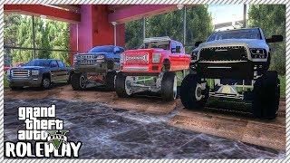 GTA 5 Roleplay - Lifted Truck & Dragster Sale at Redline Garage | RedlineRP #79