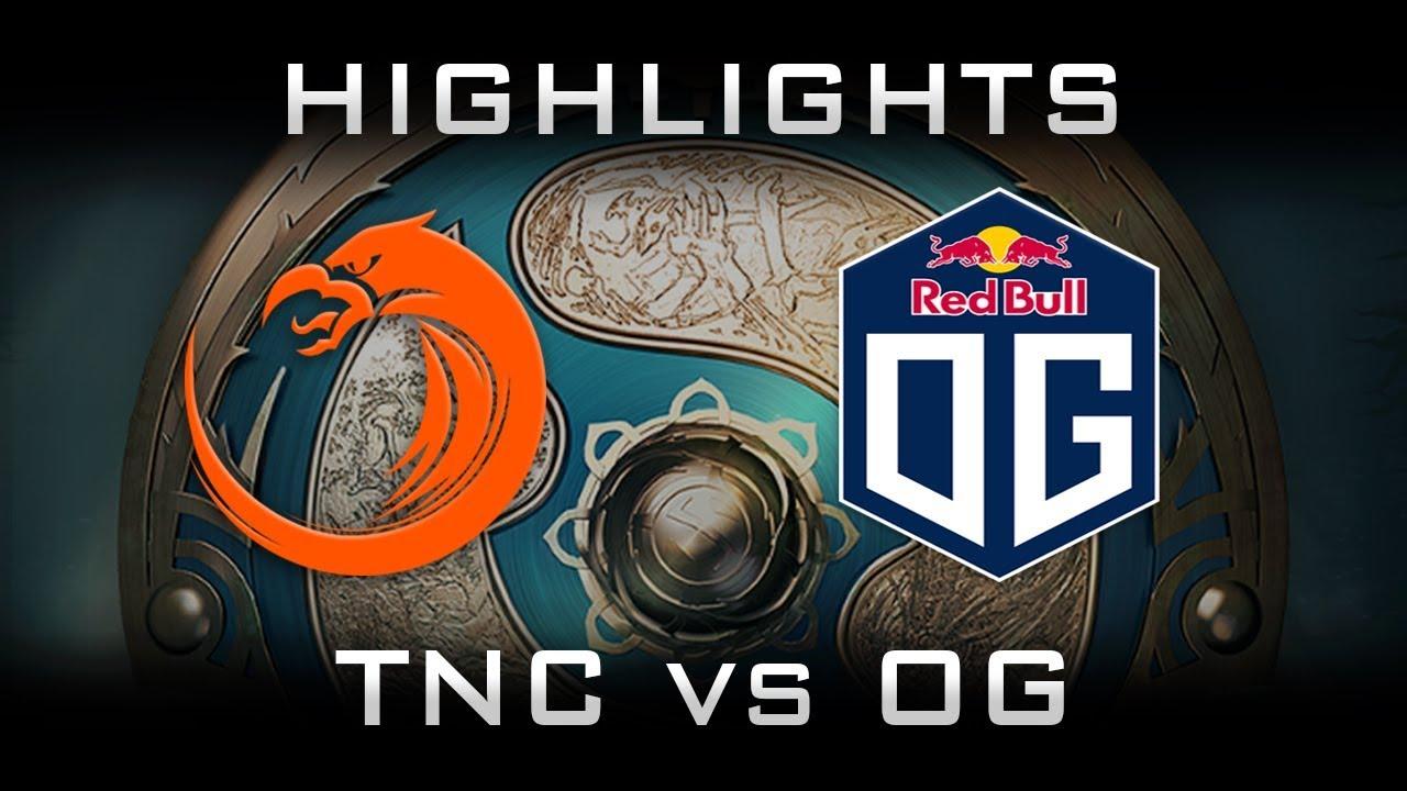 OG vs TNC TI7 Elimination Highlights The International 2017 Dota 2