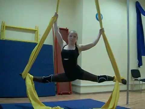 """видеоурок от наЎ≈—""""ви¤ по воздушной гимнастике"""