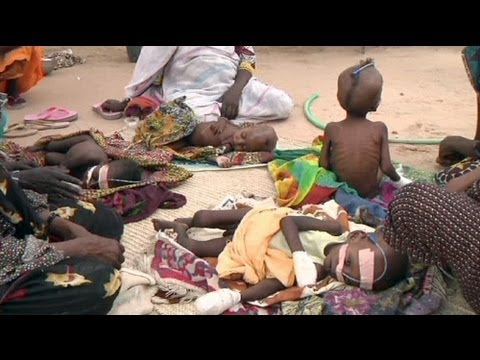 Центральную Африку охватывает голод