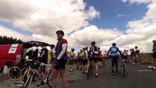 Wicklow Mountains 200km 2015 cycling challenge