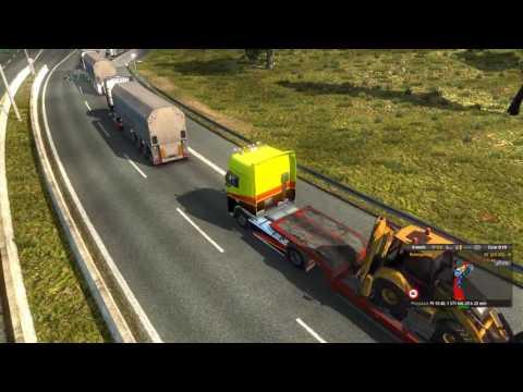 Euro Truck Simulator 2 Konwój Firmowy #5 1/3 Firma Dziad Trans W/PrezesGaming