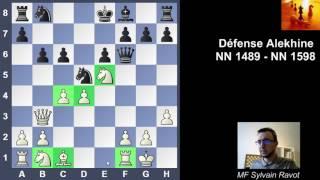 Défense Alekhine entre 2 amateurs