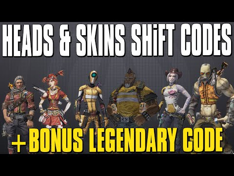 Borderlands 2 Pre-Sequel Heads & Skins + Legendary Weapons ... Borderlands Pre Sequel Shift Codes