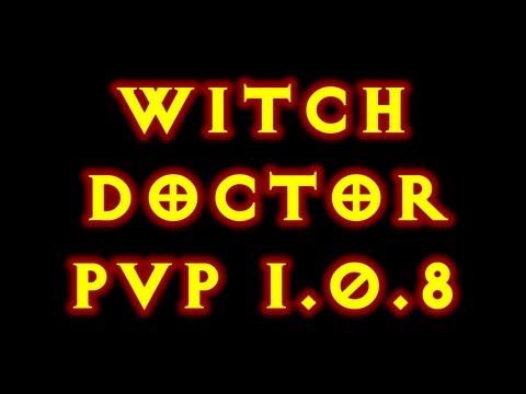 Diablo 3 Witch Doctor Insane Pvp Build 1.0.8