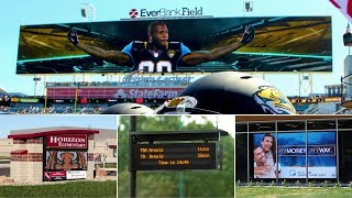 Daktronics Jaguars World's Largest Video Display