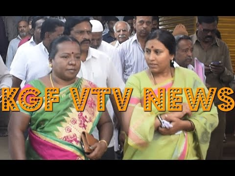 #KGF| KGF VTV NEWS| Youngster Hit on Head| Public Toilet at MG Market| Painting Unveiling