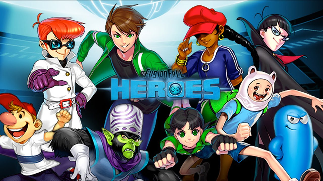 Cartoon Network Fusionfall Heroes Fusionfall Heroes Cartoon
