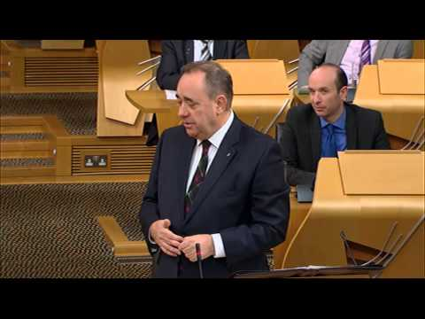 First Minister's Questions - Scottish Parliament: 13th November 2014