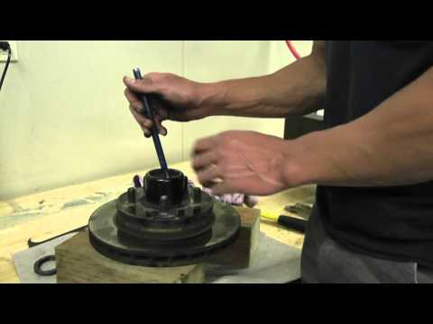 Asian Bass Guy UFP DB-42 removal and install of race. bearing. and seal