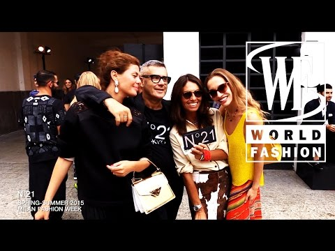 Front Row N 21 Spring-Summer 2015 Milan Fashion Week