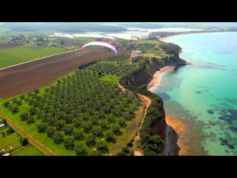 Halkidiki Kassandra Greece from the air