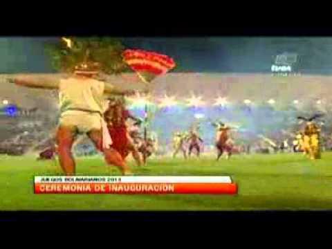 TVes Inauguración de los Juegos Bolivarianos 2013
