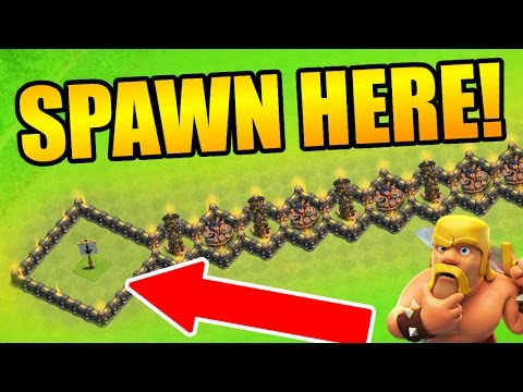 Clash Of Clans - THE ULTIMATE TROLL BASE COMPILATION ATTACKS LIVE CoC 2016!