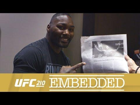 UFC 210 Embedded: Vlog Series - Episode 4