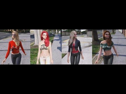 GTA V MODS Four suit for Lana sims_v