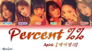 Apink 에이핑크 Percent Eung Eung 응응 Color Coded 가사 Han Rom Eng