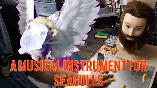 SYNTH GULL. SEAGULL MUSICAL INSTRUMENT BUILD PART 1