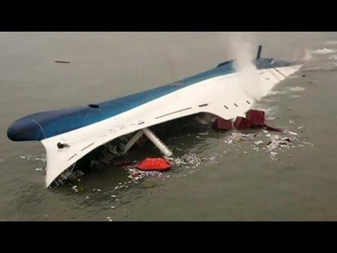 Amateur video reveals final moments of South Korea ferry victims