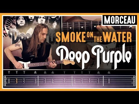 HGuitare.com : Apprendre Smoke On The Water (Deep Purple) à la guitare - Cours débutant