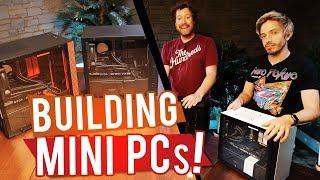 BUILDING MINI 4K GAMING PCs!