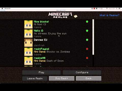 How to upload a world to Minecraft Realms
