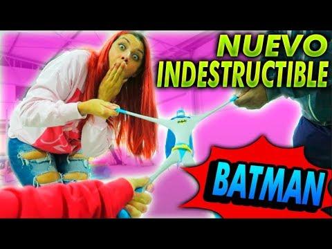 NUEVO MUÑECO INDESTRUCTIBLE!! BATMAN!! HACIENDO PRUEBAS DE RESISTENCIA