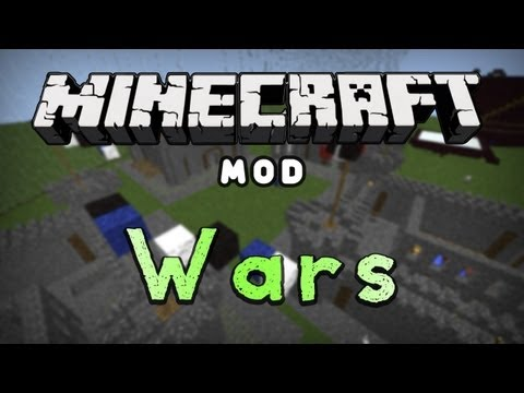 Minecraft Mod Reviews: Wars! (HD)