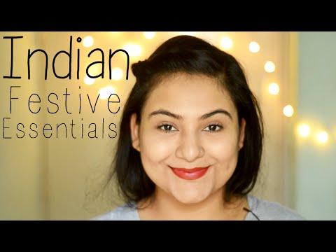 Indian Festival Makeup Essentials {delhi Fashion Blogger} video
