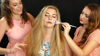 Pampering Madison! ASMR Spa Treatment! Hair & Face Brushing, Braiding Corrina & Lucy