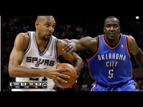 OKC Thunder vs San Antonio Spurs Game 1 (Tim Duncan Scores 27 pts In Spurs Win) REACTION