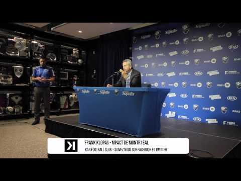 #IMFC #MTLvDC : Frank Klopas Post Match Press Conference | AFROKANLIFE