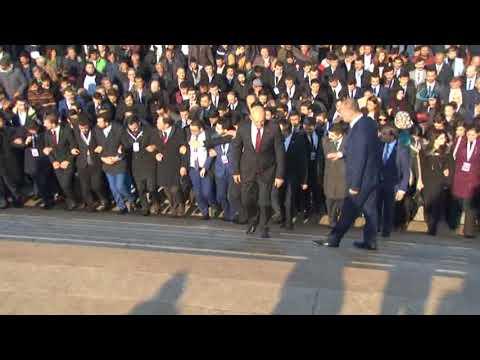 Binlerce Ülkücü Alparslan Türkeş'in Mezarından Anıtkabir'e Yürüdü