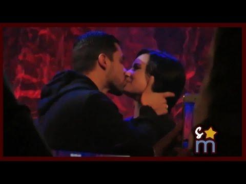 Demi Lovato Surprised/Kissed by Wilmer Valderrama at Lovato Scholarship Benefit