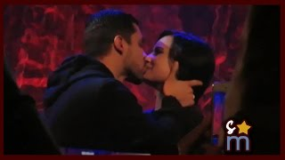 Demi Lovato Surprised/Kissed by Wilmer Valderrama at Lovato Scholarship Benefit