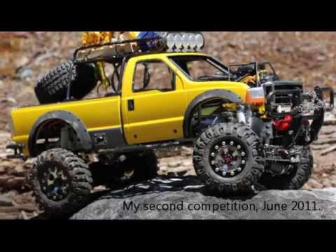 Custom RC Trucks - Tamiya Ford F350 4X4 High Lift Rock Crawler