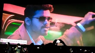 SARKAR FDFS: Thalapathy Mass Entry Scene! – Fans Vera Level Celebration
