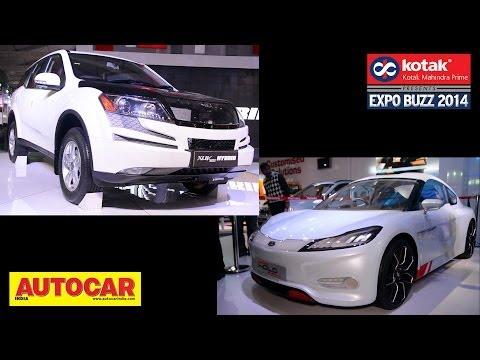Mahindra XUV500 Hybrid & Reva Halo Sports Concept | Kotak Mahindra Prime Presents Expo Buzz 2014