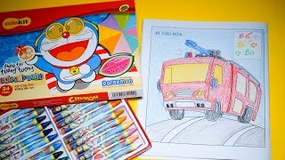 Coloring pages for kids - Coloring firefighter truck - Episode 3