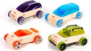 Learn Colors with Automoblox Toy Vehicles for Children