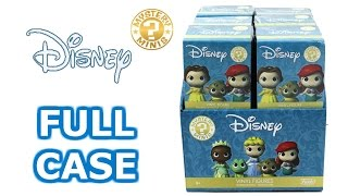 Disney Funko Mystery Minis Disney Princesses Full Case Unboxing Opening Entire Case