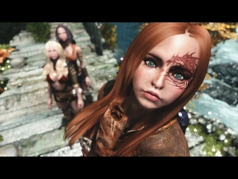 SKYRIM Sexy Followers 2 - Girls of Skyrim ( PC Mod Tutorial DE )