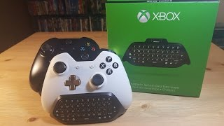 Unboxing -CHATPAD- XBOX ONE& Windows 10 |en Español|