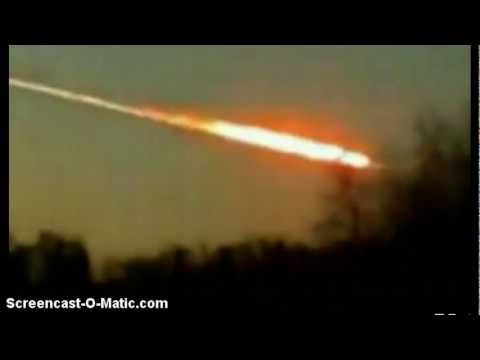 !!! Soucoupe Volante (OVNI) détruit les météorites de Russie ! [HD]