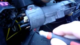 98 Audi A4 Ignition Switch Removal - A6, A8, S4, RS4 VW Jetta Golf Beetle Passat