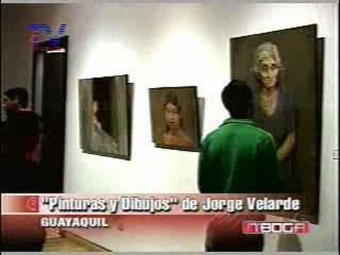 Pinturas y dibujos de Jorge Velarde