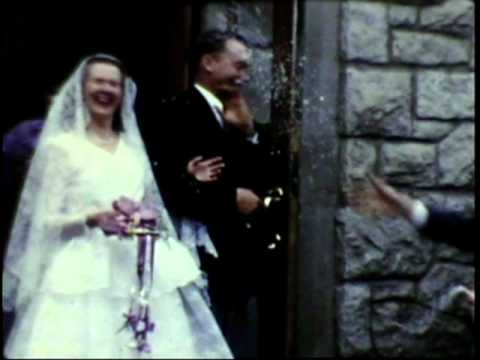1953 Saskatoon George Ilene Hagblom Wedding Bonney Walters 8mm 2 video