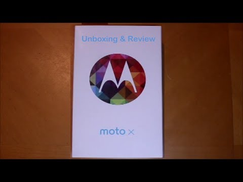 Verizon Moto X unboxing and review