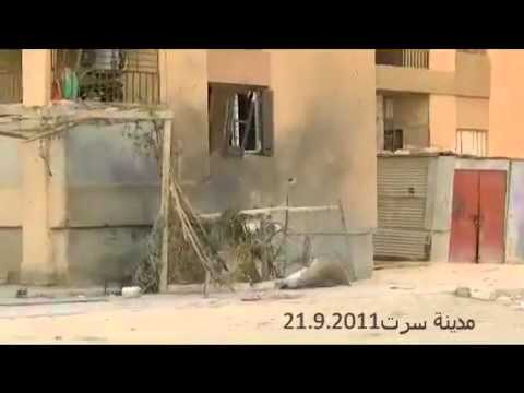 Libya : NATO attacking Residintial Houses in Sirt