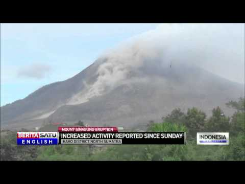 Mount Sinabung Increased Activity
